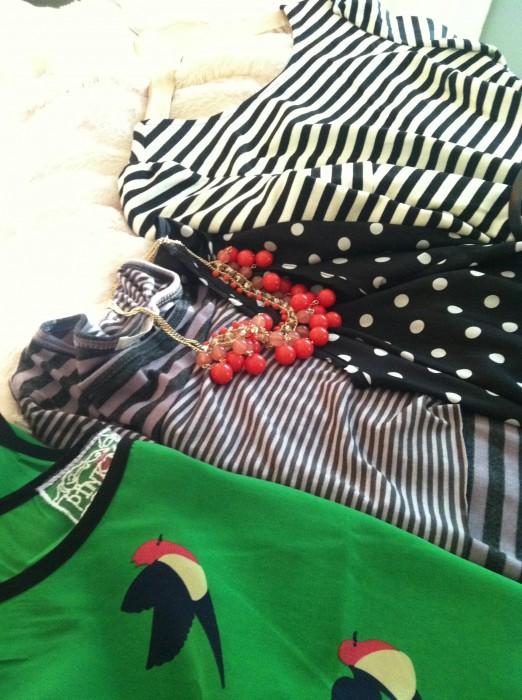 Ark n Co Sterling Belted Striped Minidress
