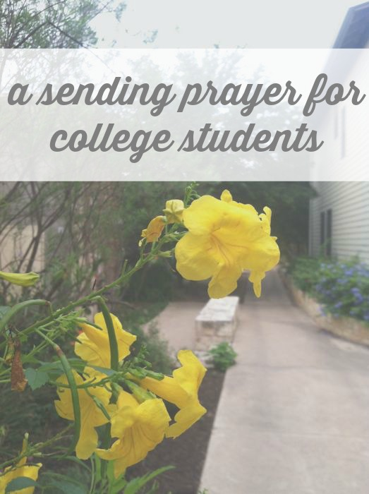 prayers for college students