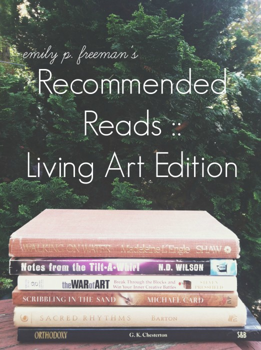 Recommended Reads :: Living Art Edition - Chatting at the Sky