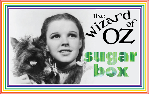 The Wizard of Oz Sugar Box