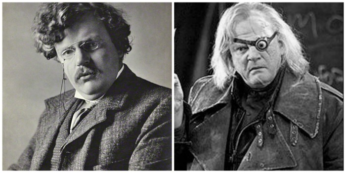 GK and Mad Eye Moody