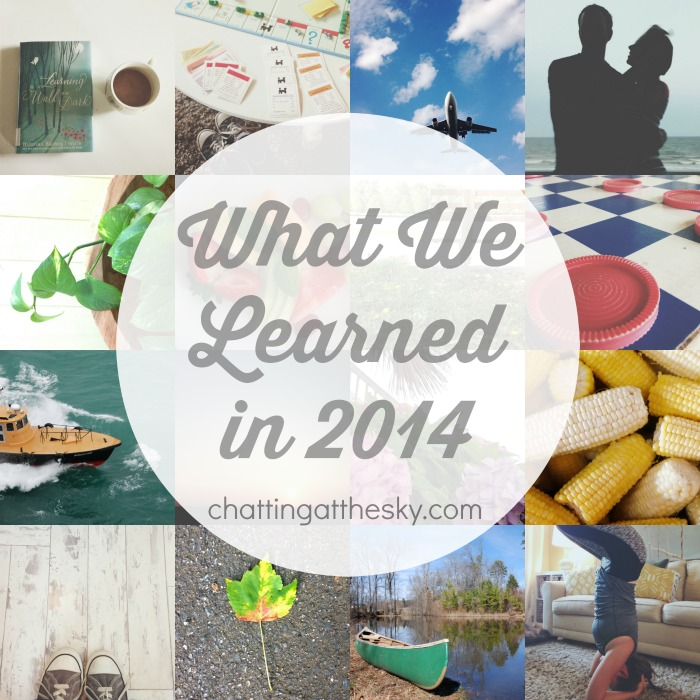 what we learned in 2014