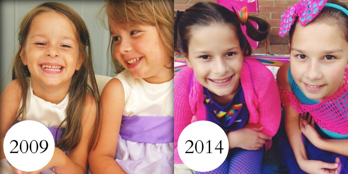 the girls 2009 and 2014