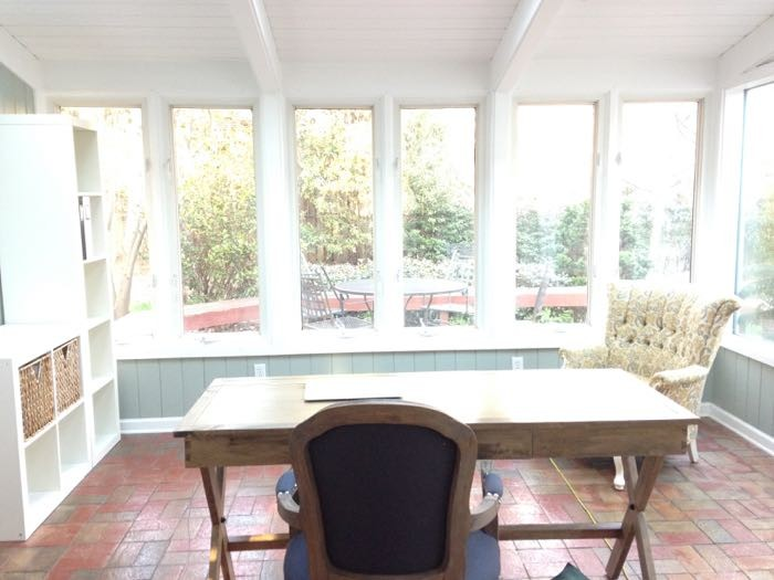 quiet the sunroom