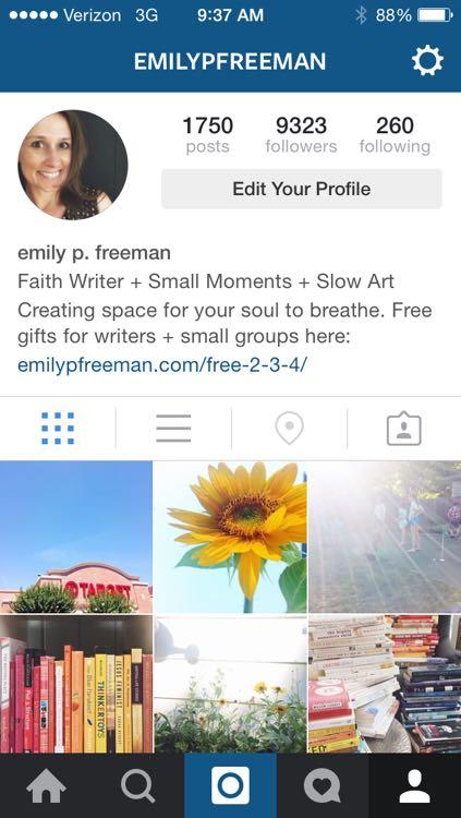 emily p freeman on instagram