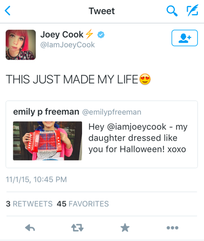 Joey cook