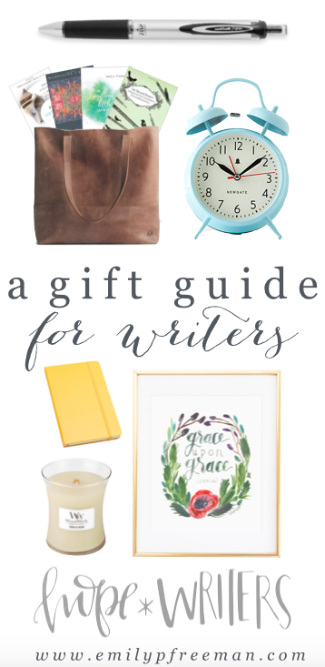 Gift Guide for Writers - Emily P Freeman