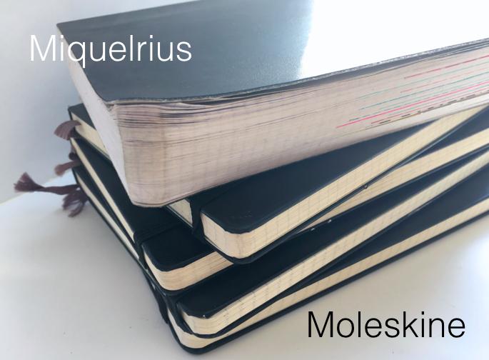 Moleskin + Miquelrius