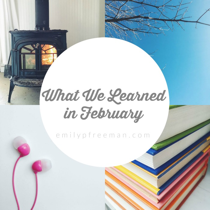 What We Learned in February
