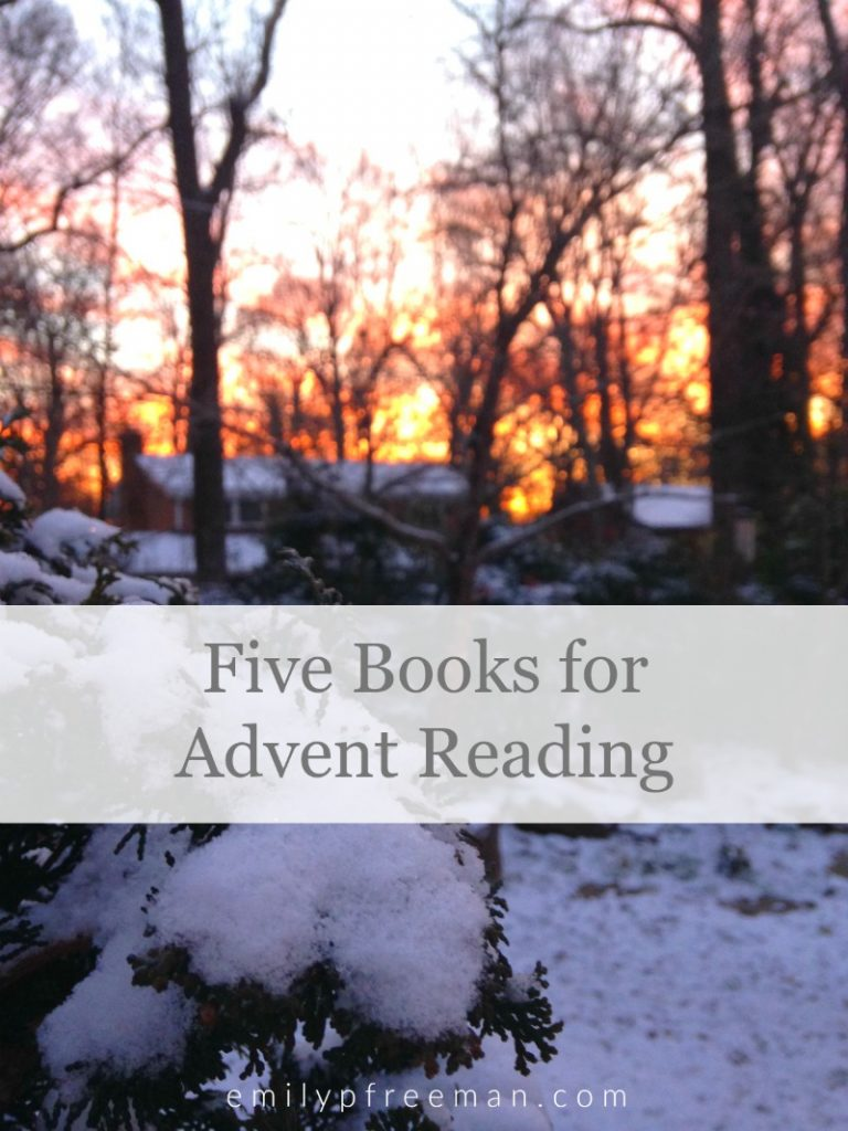 5 books for Advent