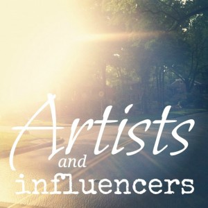 artists & influencers :: a series at chatting at the sky