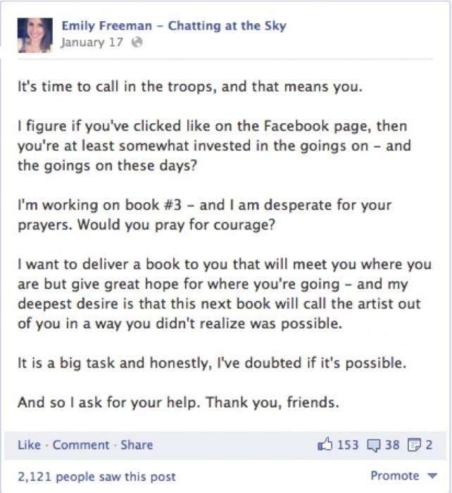 facebook january 17