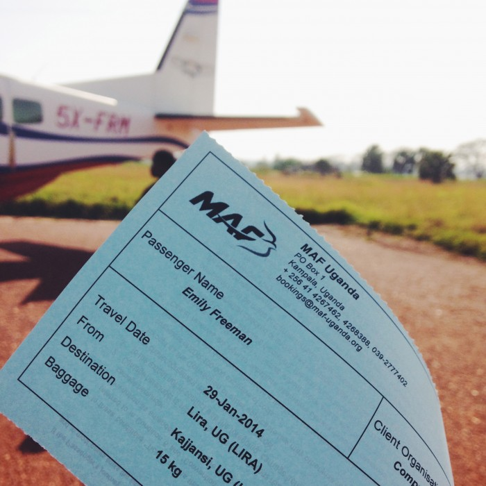 ticket for barbie plane