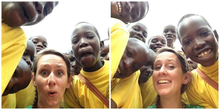 selfies in uganda
