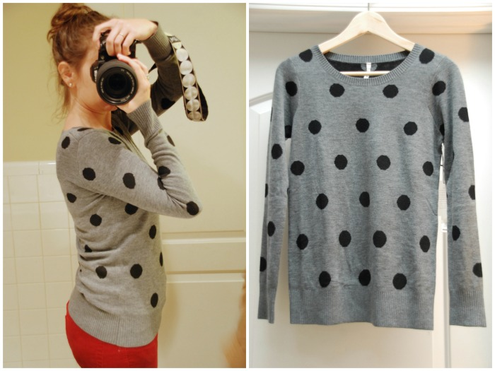 Willow and Clay Seurat Dot Crew-Neck Sweater