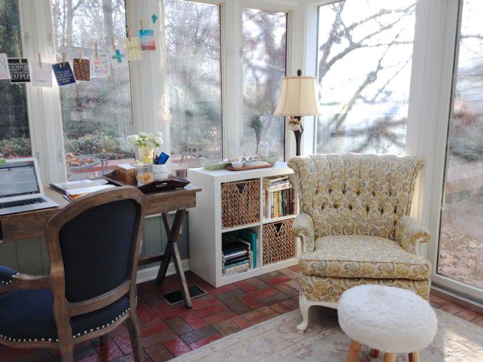 my corner office
