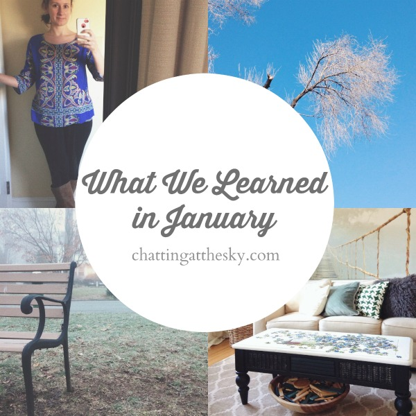 What We Learned in January 2015