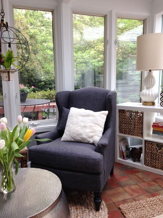 sunroom after