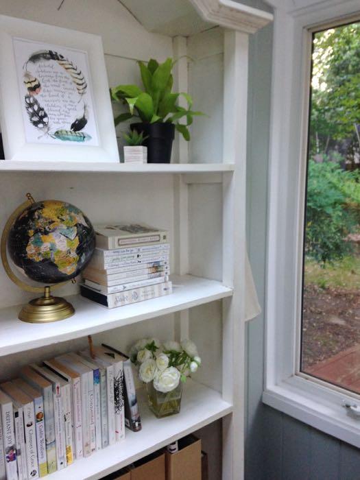 my office bookshelf