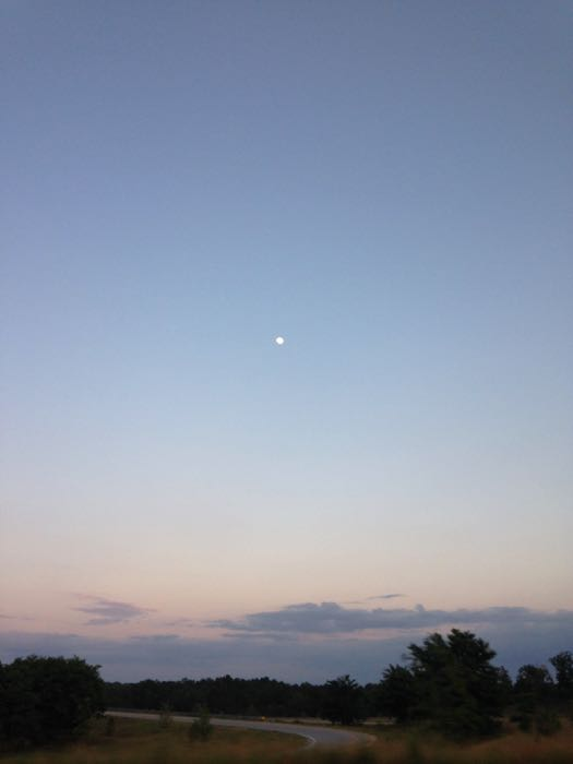 moonrise over carolina