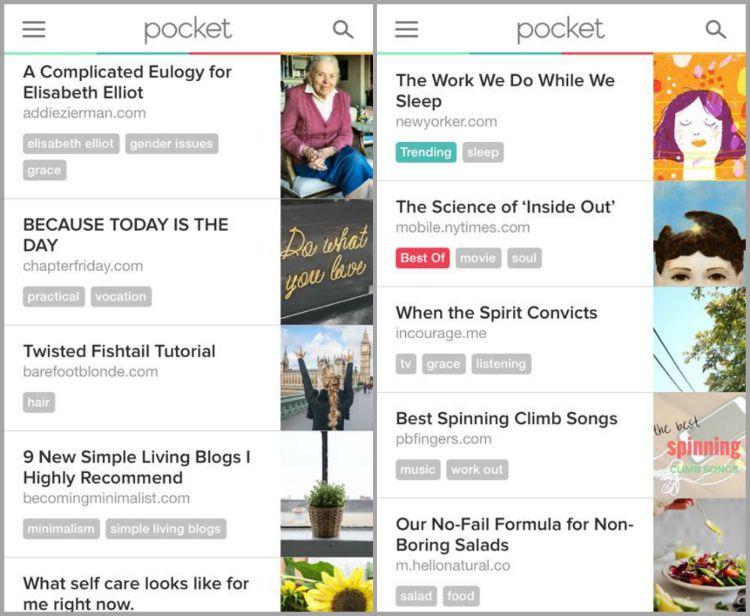 The Pocket App