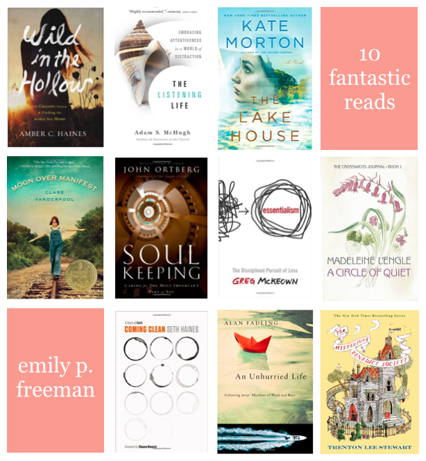 10 Fantastic Reads - emily p freeman