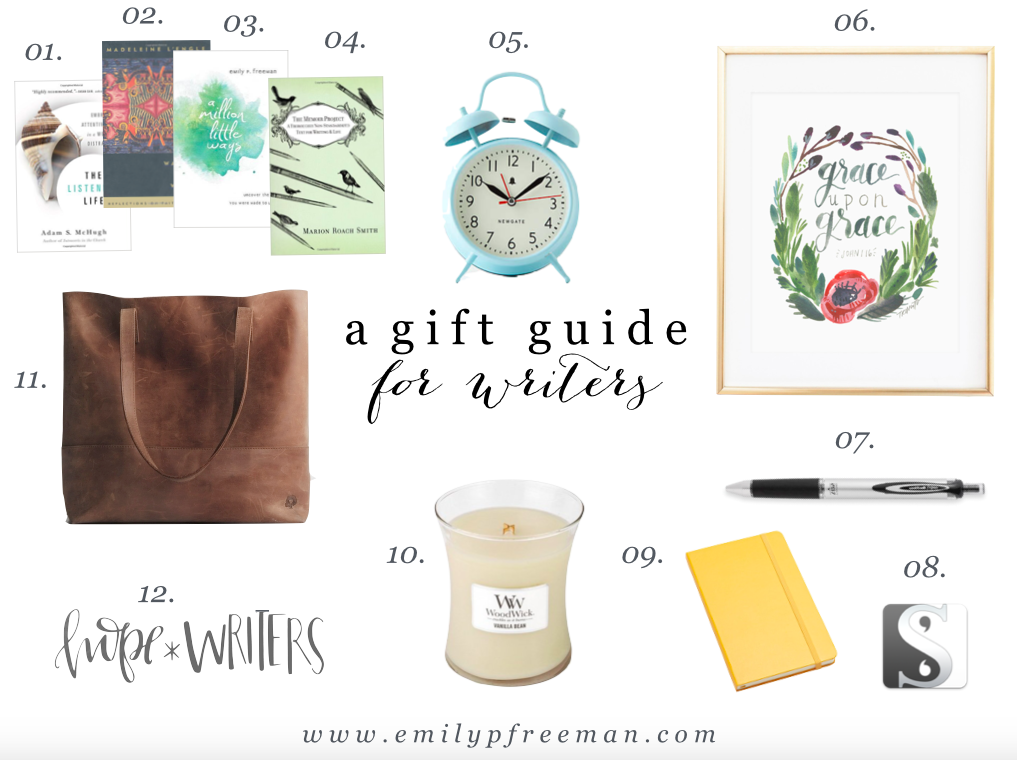 A Gift Guide for Writers
