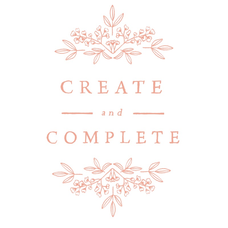 create and complete