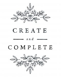 create and complete 3 copy
