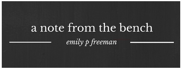 emily p freeman newsletter