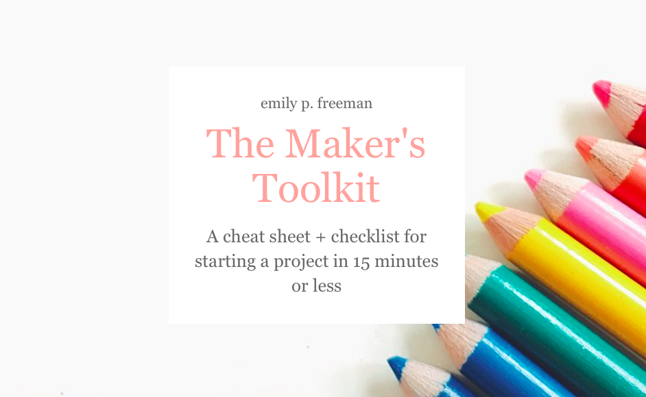 The Maker's Toolkit