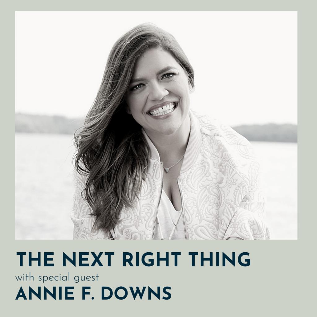 Bonus: Annie F. Downs