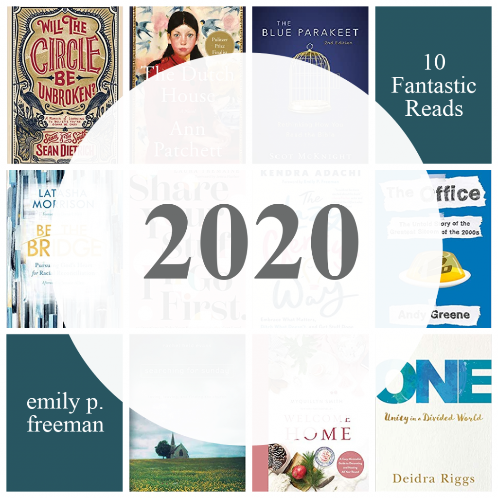 Best books for 2020