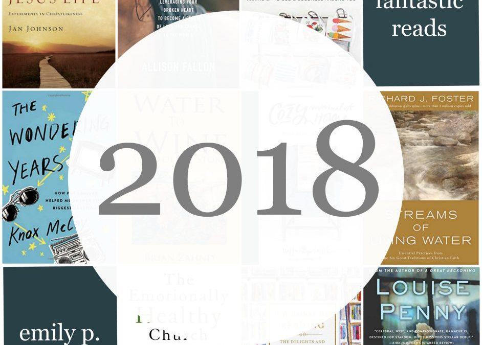 Top Ten Books of 2018