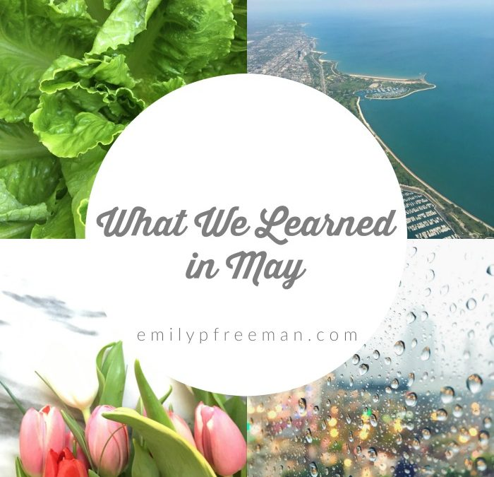 Let's Share What We Learned in May