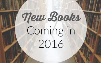 New Books Coming in 2016