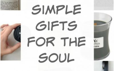 Simple Gifts to Encourage the Soul