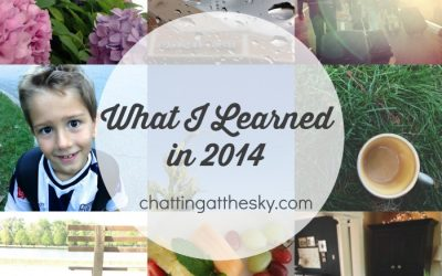 20 Things I Learned in 2014