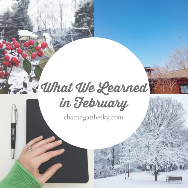 Let's Share What We Learned in February