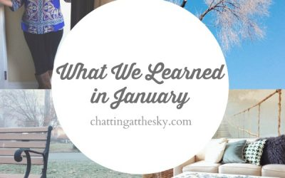 Let's Share What We Learned in January