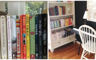 A Peek at My Bookshelves