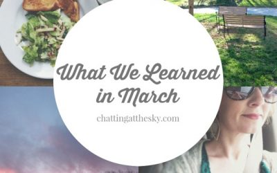 Let's Share What We Learned in March
